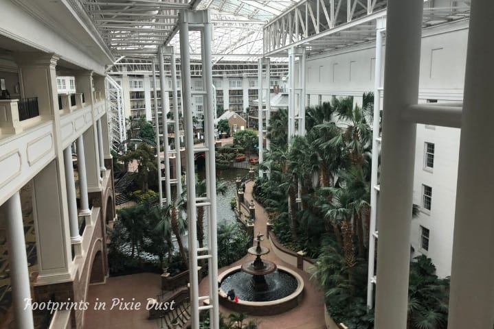 Gaylord Opryland Resort and Convention Center - View of Delta Atrium from Convention Center