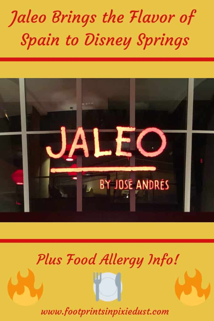 Jaleo at Disney Springs ~ #JaleoDisneySprings #DisneySprings #Disneydining #DisneySMMC #DisneyFoodie #footprintsatdisney #travel #food #SpanishCuisine #ChefJoseAndres