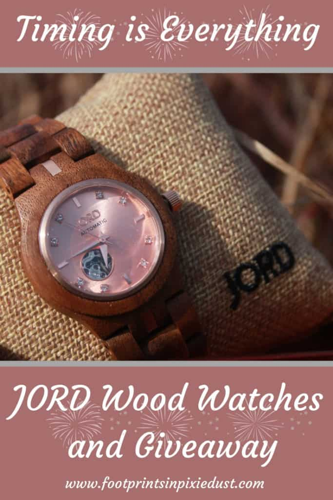 Timing is Everything | Jord Wood Watch and Giveaway ~ #JordWatch #woodwatch #timepiece #accessory #giveaway