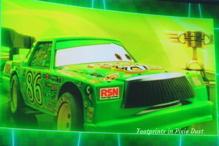 Lightning McQueen's Racing Academy ~ Chick Hicks