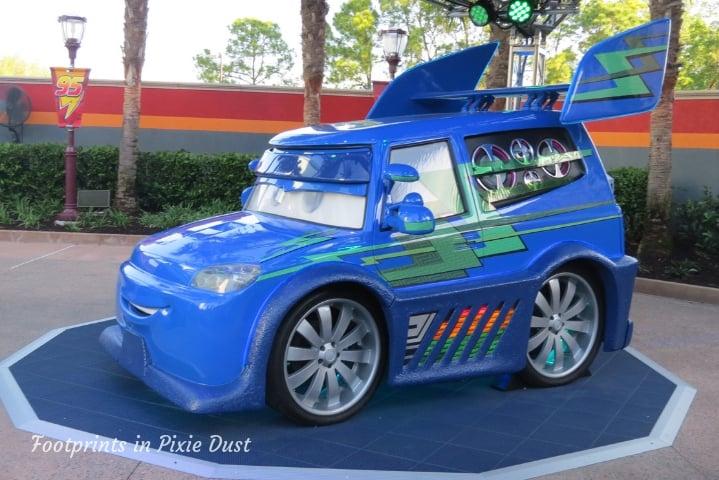 Lightning McQueen's Racing Academy - DJ