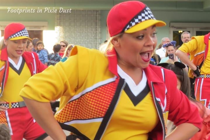 Lightning McQueen's Racing Academy ~ Dancing Pit Crew