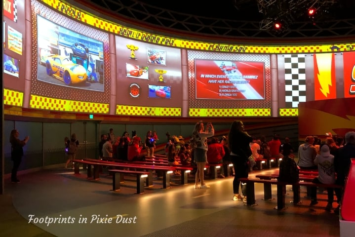 Lightning McQueen's Racing Academy ~ Expanded screen