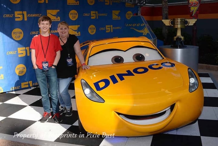 Lightning McQueen's Racing Academy ~ PhotoPass with Cruz Ramirez