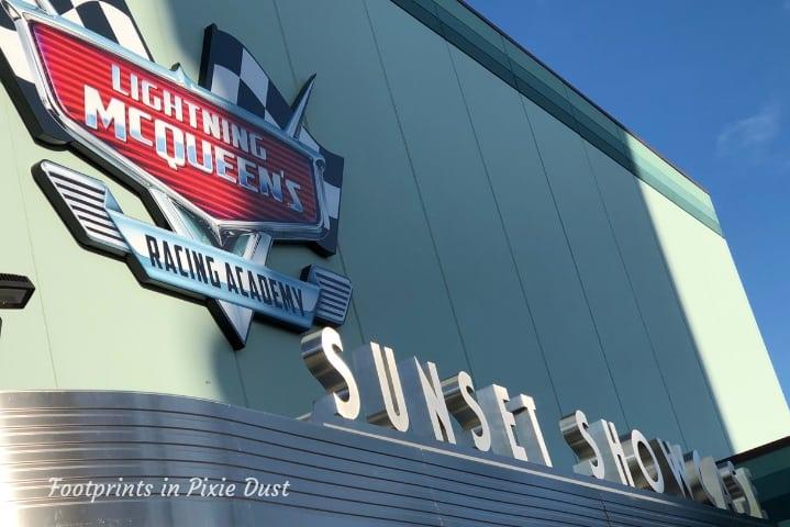 Lightning McQueen's Racing Academy ~ Sunset Showcase
