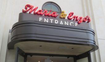 Maria & Enzo's entrance