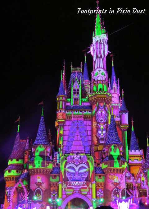 Disney Villains After Hours - Cinderella Castle during event