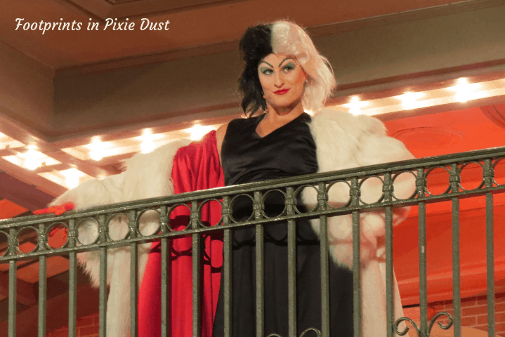 Disney Villains After Hours - Cruella bidding us farewell
