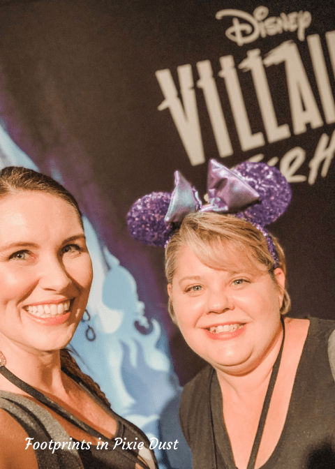 Disney Villains After Hours - Jen and Tina (photo by Jennifer H.)