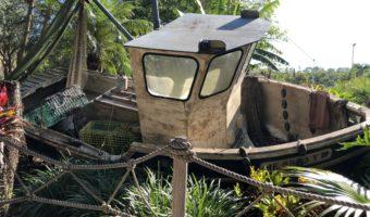 Shipwreck at Disney's Typhoon Lagoon
