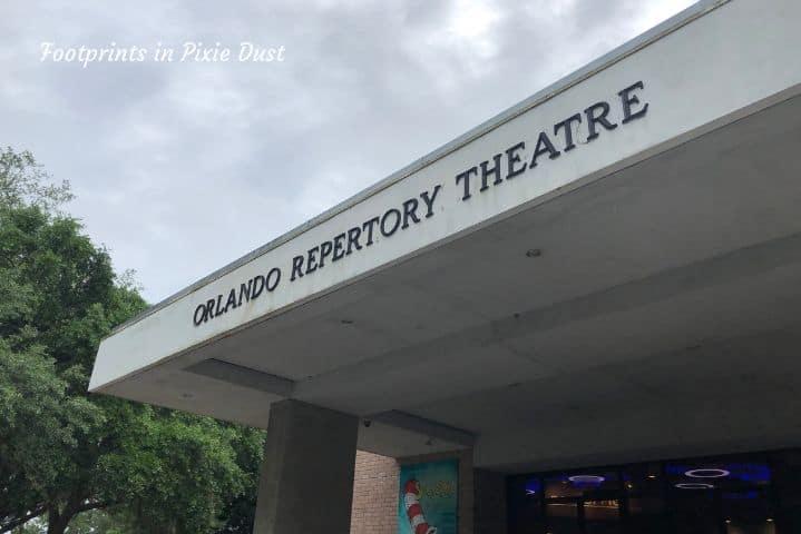 Orlando Repertory Theatre entrance