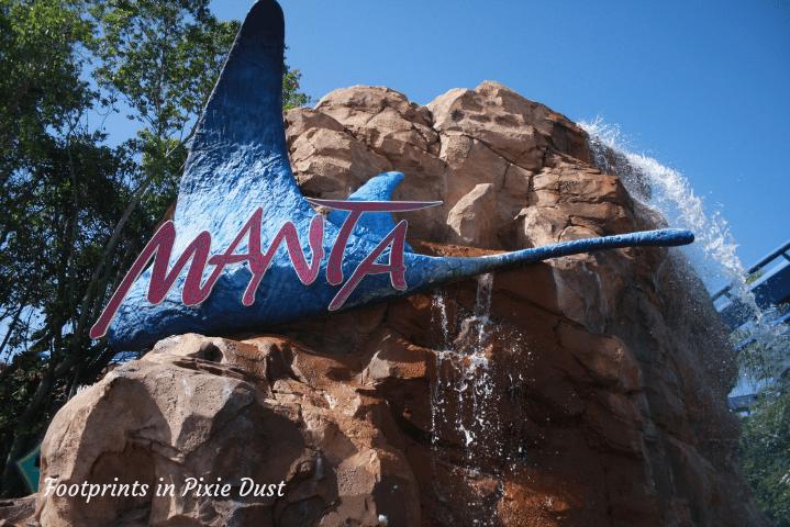 SeaWorld Orlando ~ Manta sign