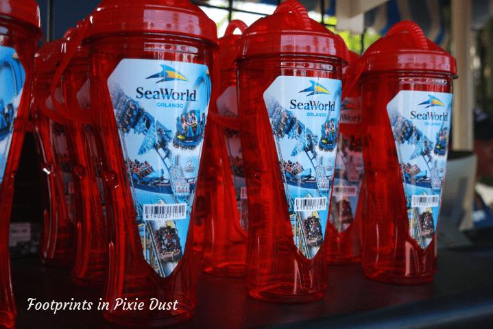 SeaWorld Orlando ~ Refillable Souvenir cups