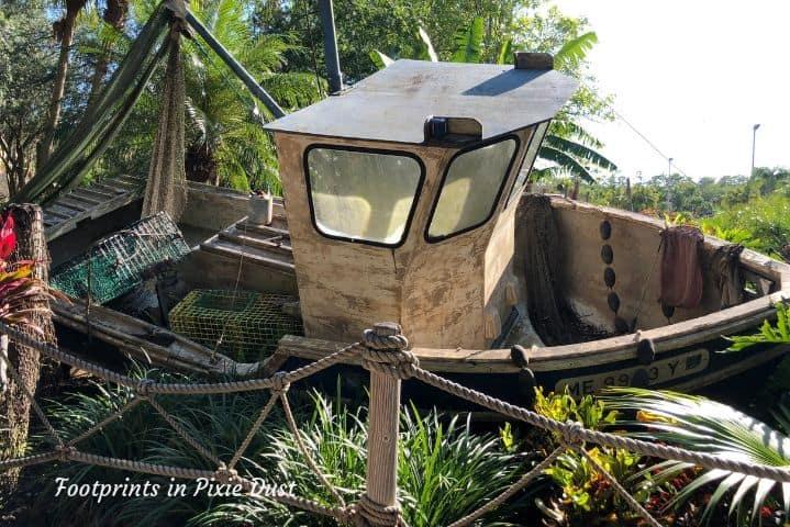 Shipwreck at Disney's Typhoon Lagoon ~ H2O Glow Nights