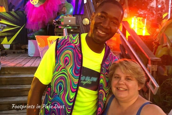 T with Mark Daniel, Disney Parks Blog ~ H2O Glow Nights at Disney's Typhoon Lagoon