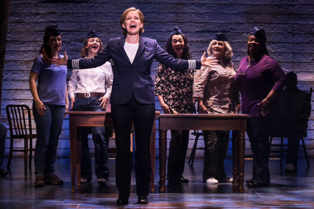 The First North American Tour Cast of COME FROM AWAY, Photo by Matthew Murphy, 2018