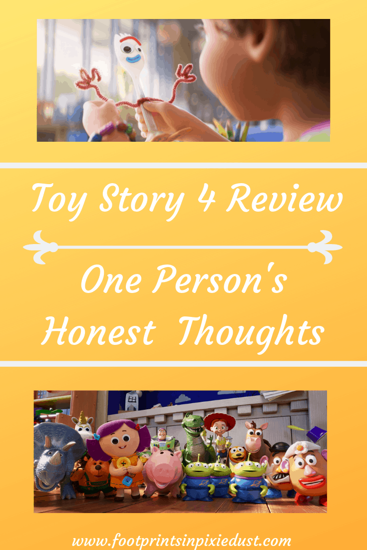 Toy Story 4 Review pin