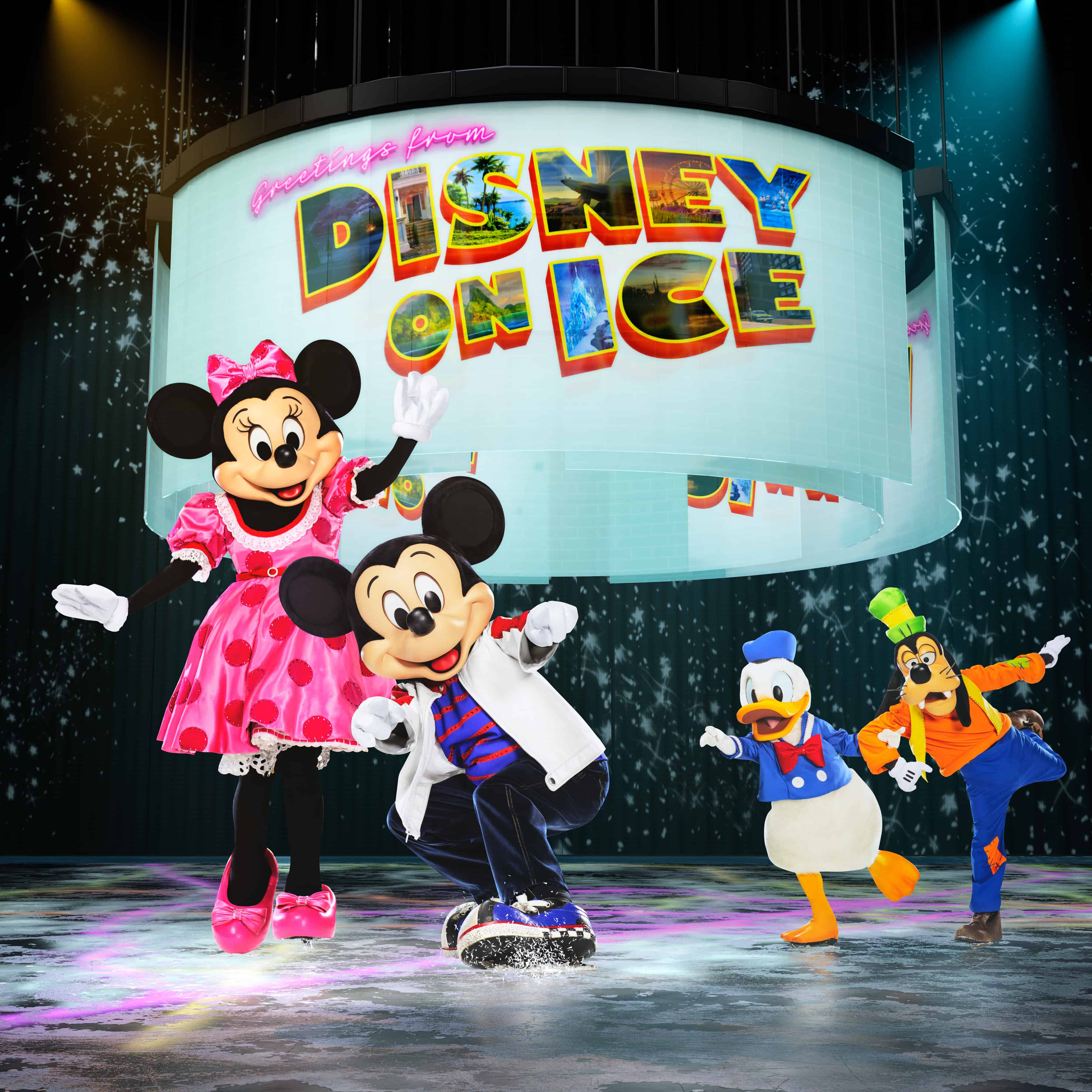 Mickey and the Gang in Disney on Ice Road Trip Adventures