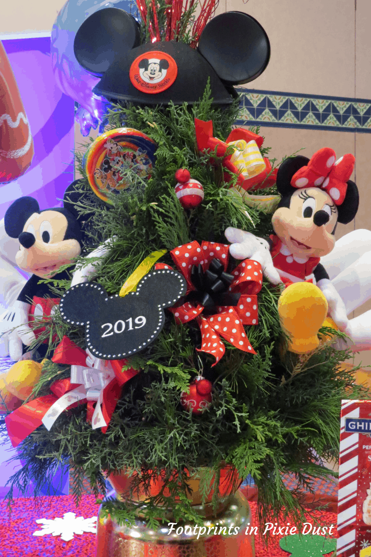Disney Holidays - Christmas in July - Christmas Tree for the Resort Room (Disney Floral & Gifts)