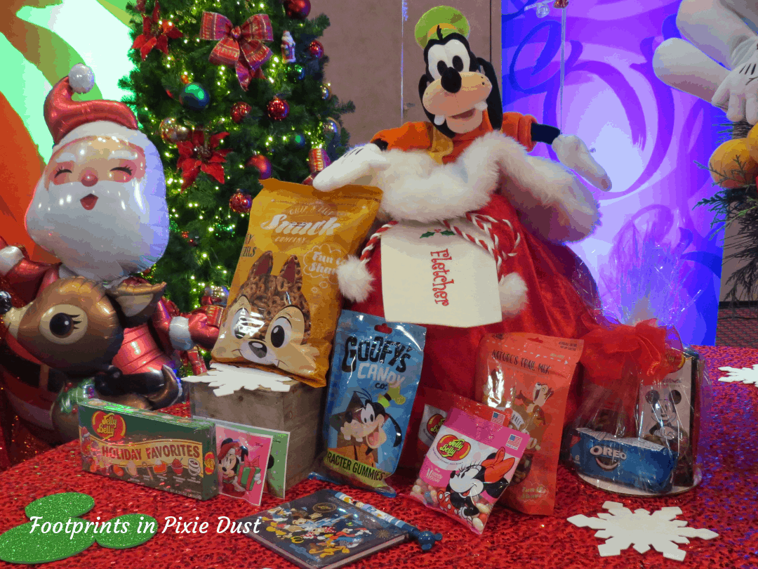 Disney Holidays - Christmas in July - Example of Personalized Christmas Gift Bag from Disney Floral & Gifts