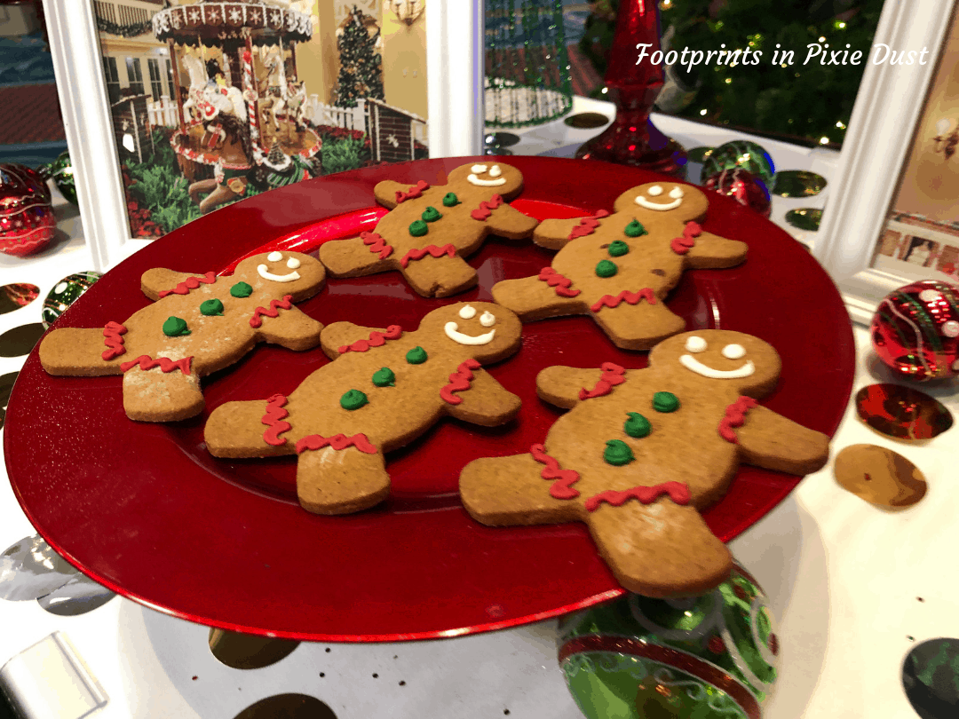 Disney Holidays - Christmas in July - Gingerbread Man Cookie for Epcot Holiday Cookie Stroll 2019