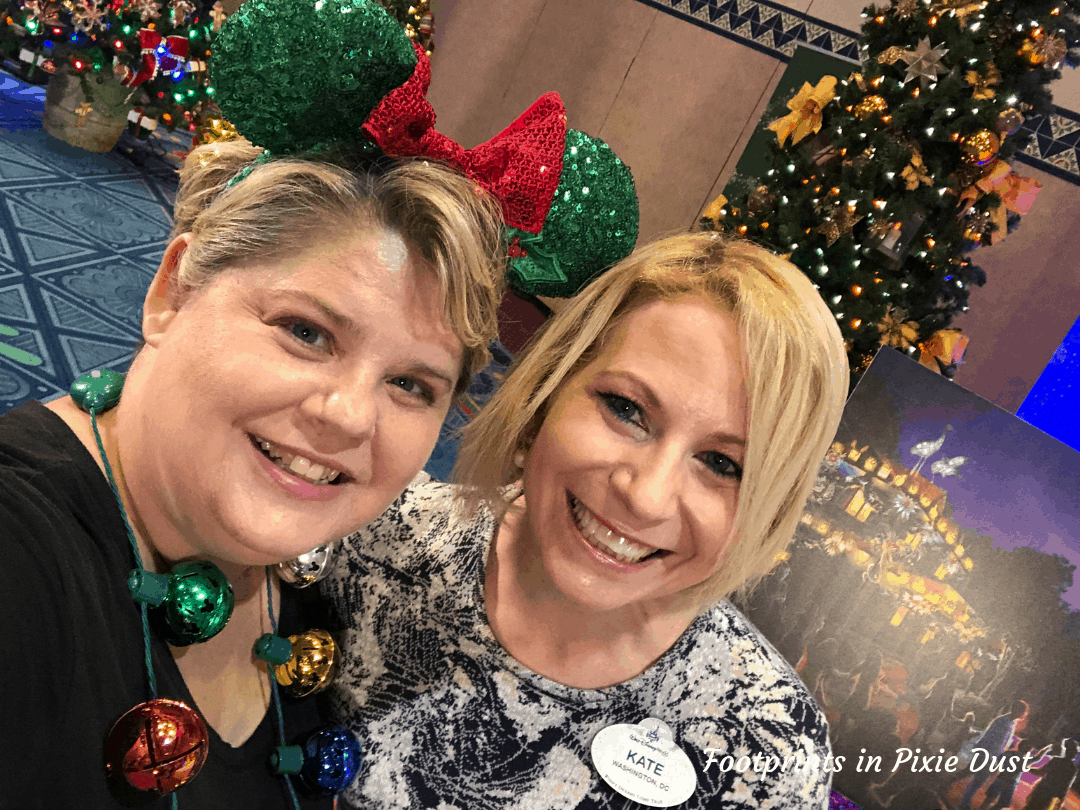 Disney Holidays - Christmas in July - Photo with Kate, Production Manager