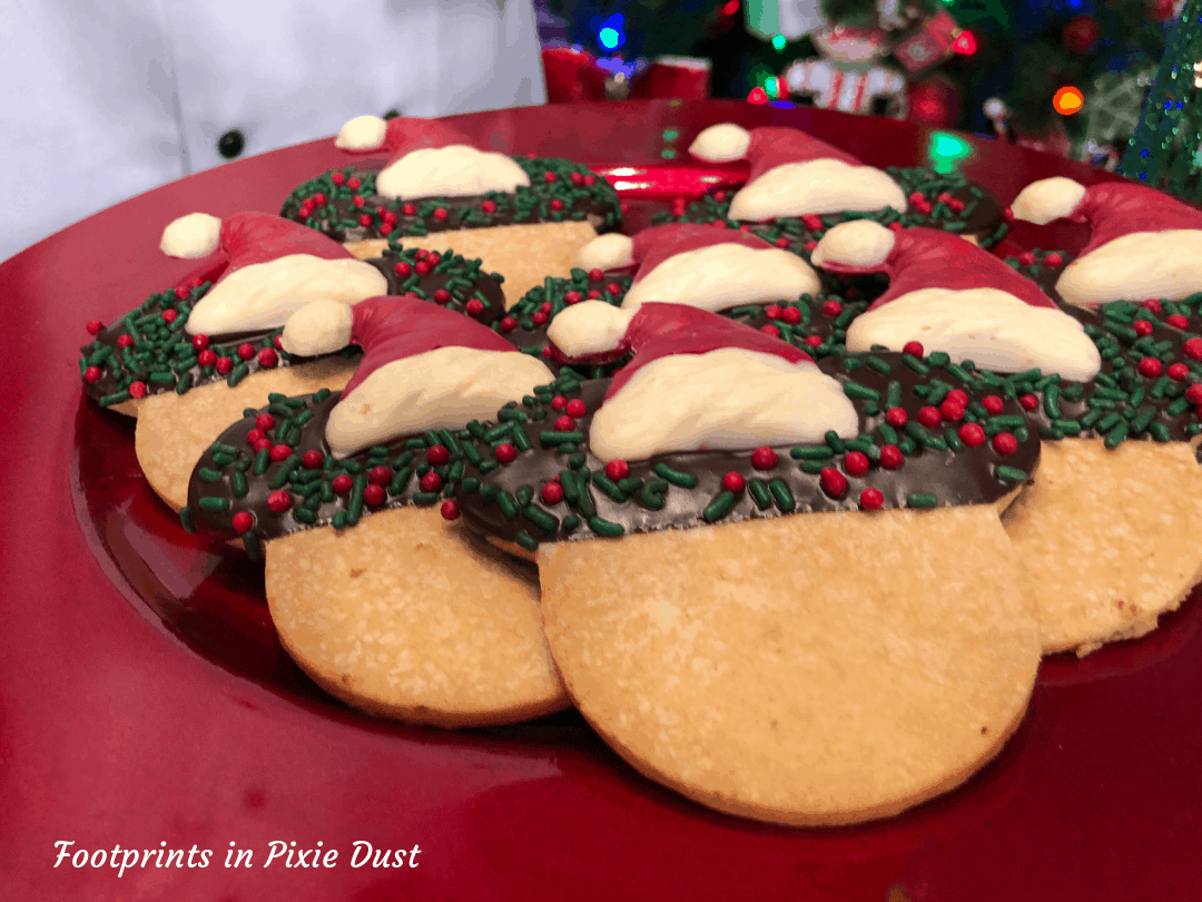 Disney Holidays - Christmas in July - Santa Mickey Cookie for Epcot Holiday Cookie Stroll 2019