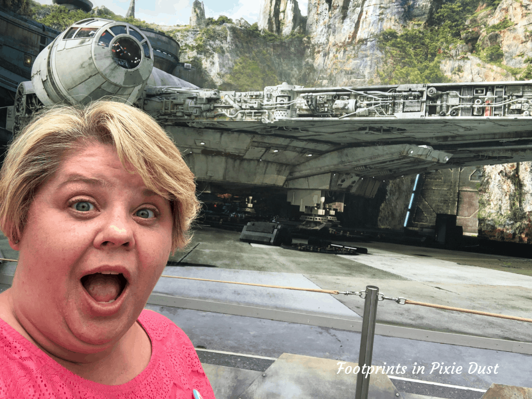 Disney Social Media Celebration ~ About To Go Backstage of Star Wars Galaxy's Edge