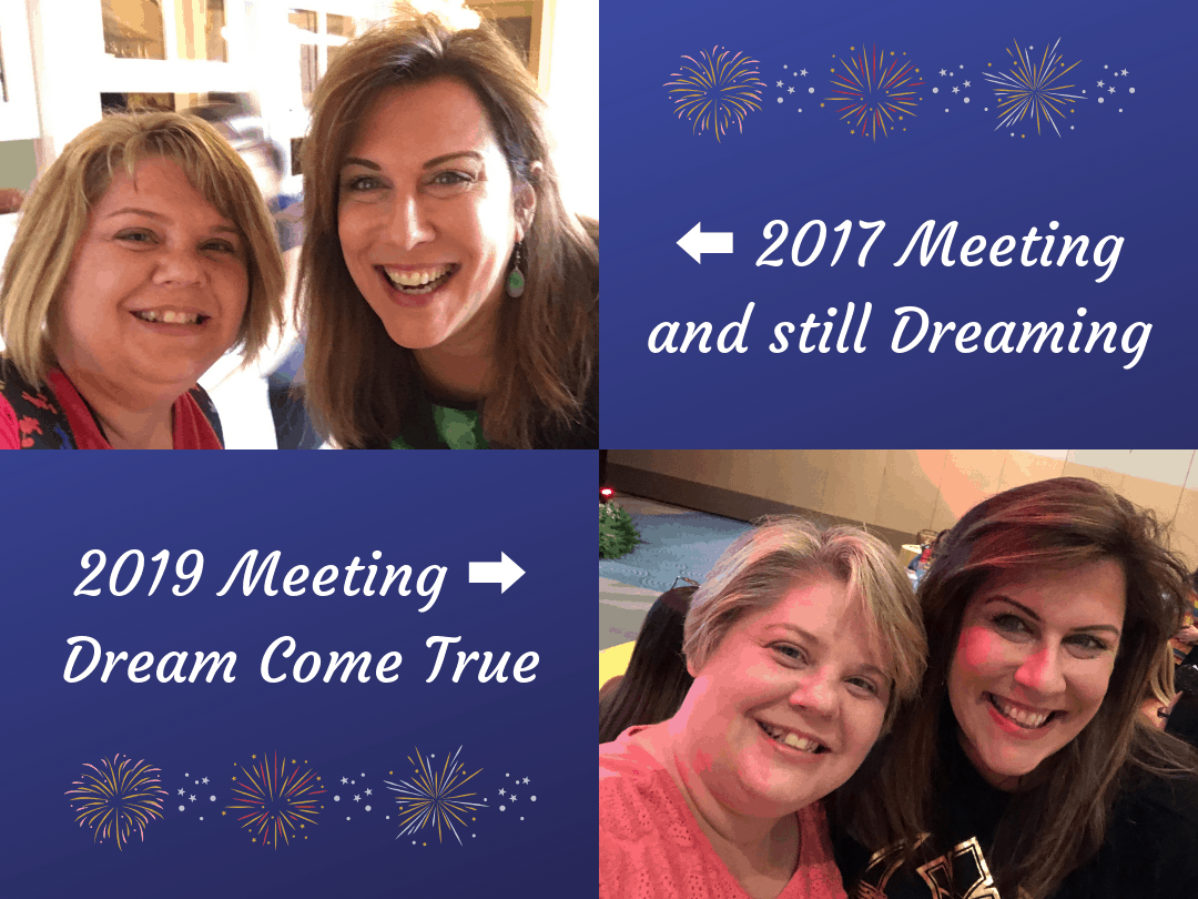 Disney Social Media Celebration ~ Meeting Leanne and Speaking My Dream