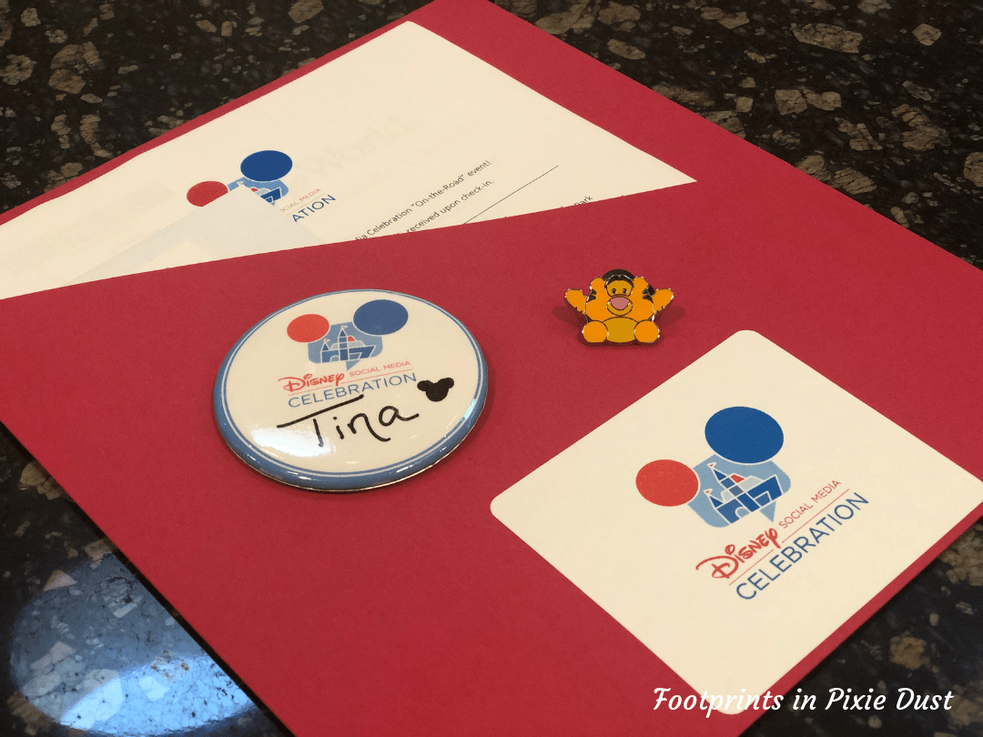 Disney Social Media Celebration ~ The Welcome Packet