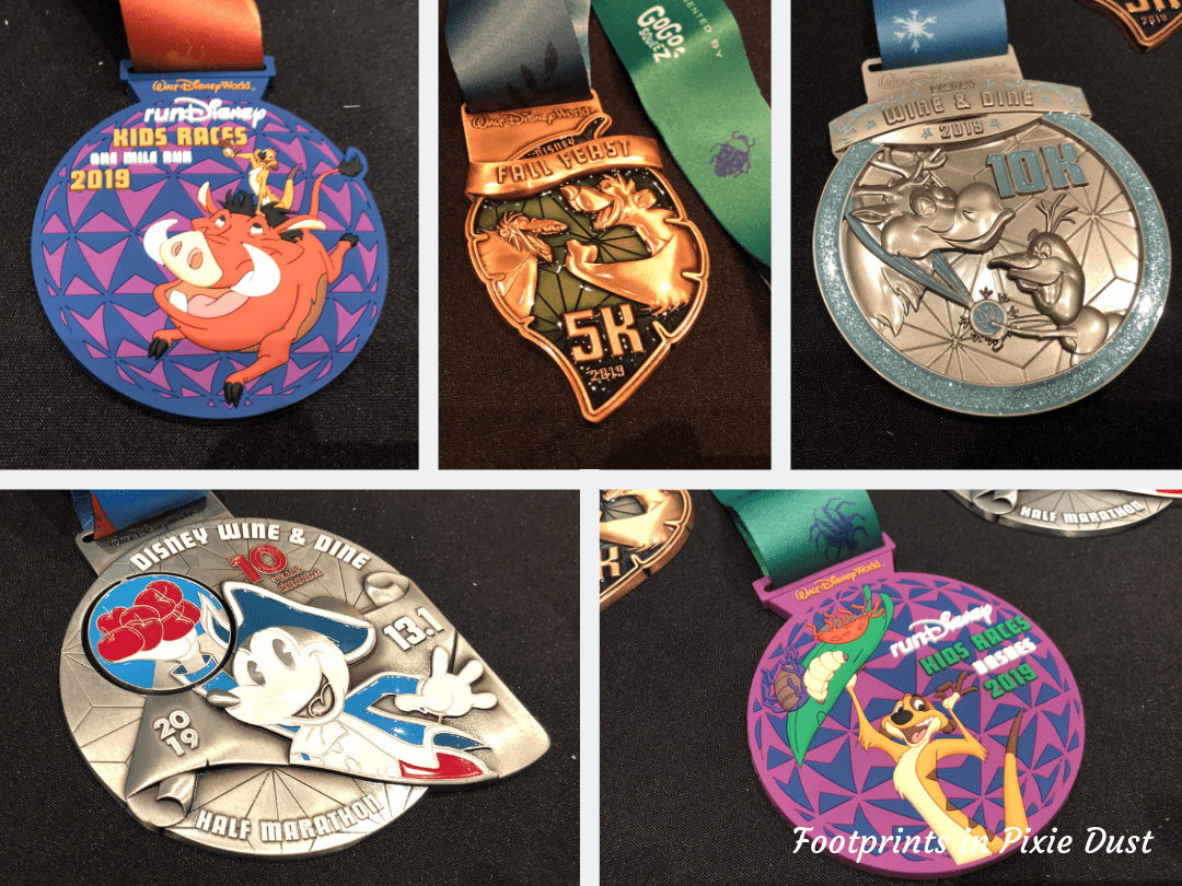 Disney Social Media Celebration ~ runDisney medals