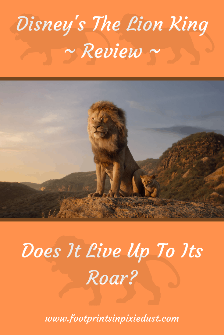 Disney's The Lion King © 2019 Disney Enterprises, Inc. All Rights Reserved.