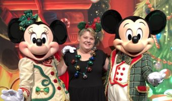 Disney Holidays ~ Footprints in Pixie Dust with Mickey and Minnie Mouse