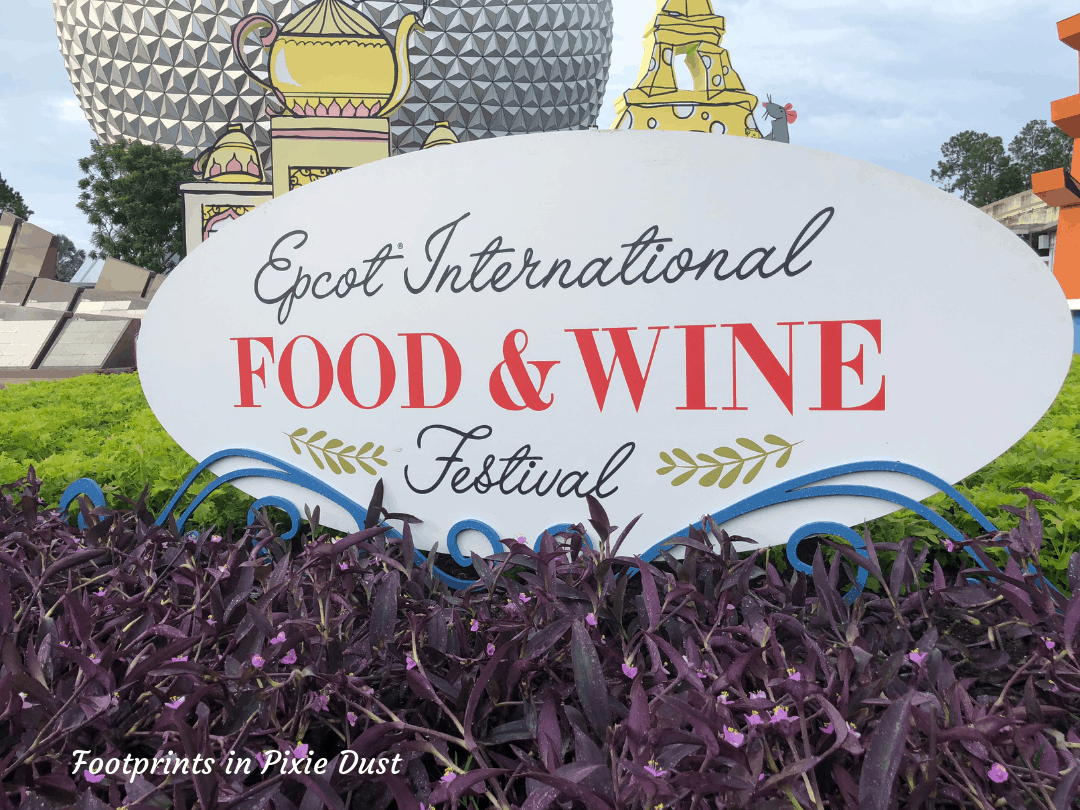 Autumn at Walt Disney World - Food and Wine Festival