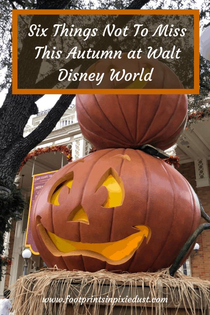 Autumn at Walt Disney World pin