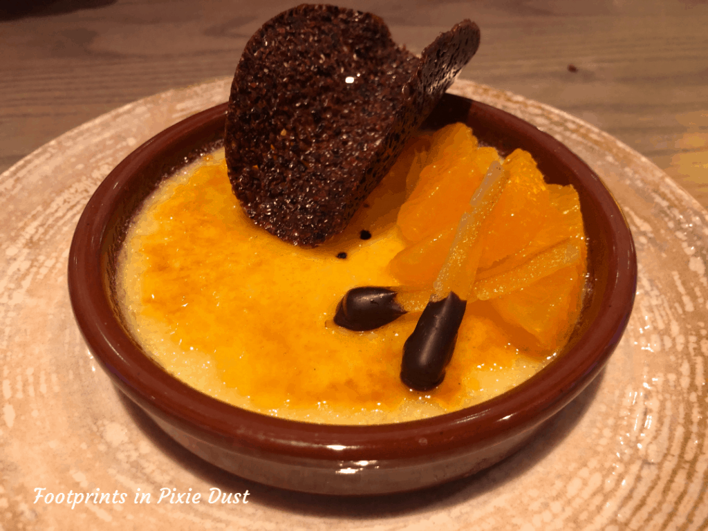 Dining in Style at Toledo - Classic Crema Catalana