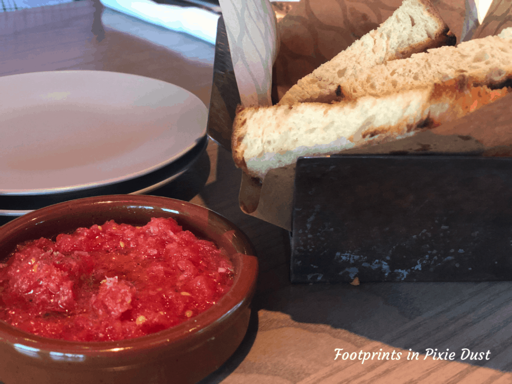 Dining in Style at Toledo - Pan con tomate