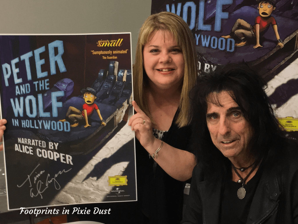 Meeting Alice Cooper 2016