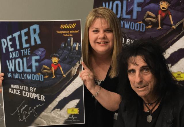 Meeting Alice Cooper 2016