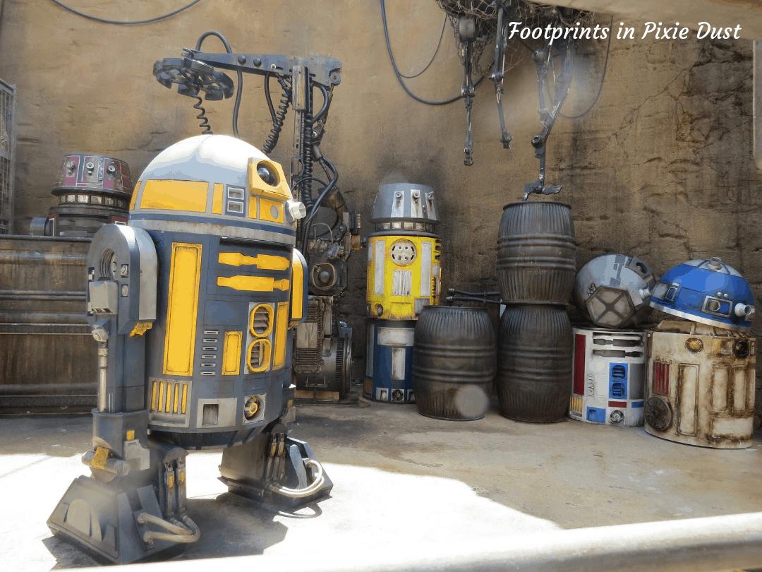 Star Wars Galaxy's Edge ~ Droids on Batuu