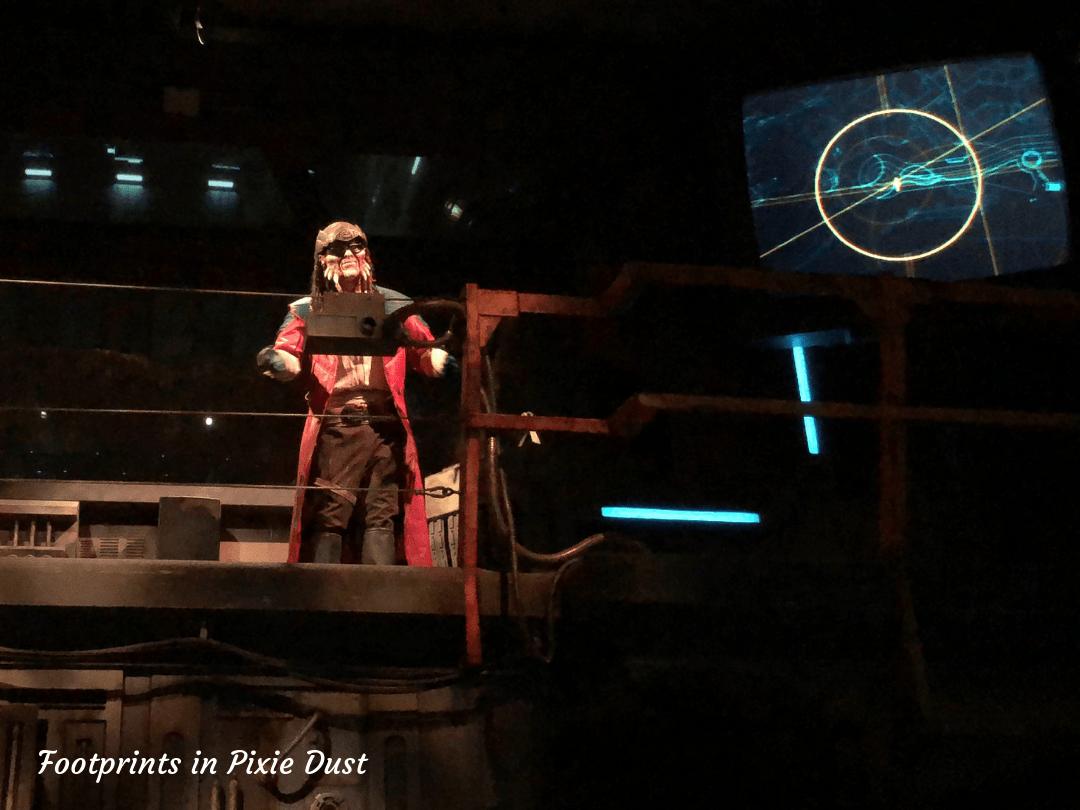 Star Wars Galaxy's Edge ~ Hondo Ohnaka on Millennium Falcon Smugglers Run