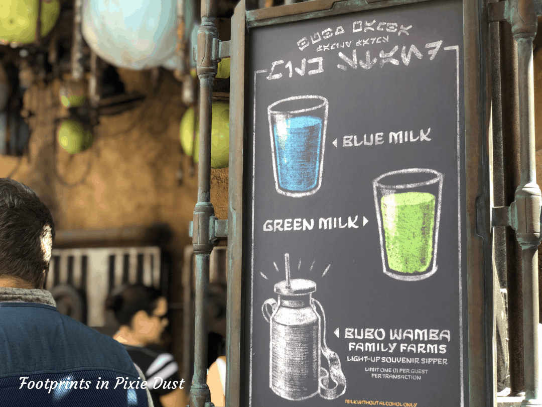 Star Wars Galaxy's Edge ~ The Milk Stand