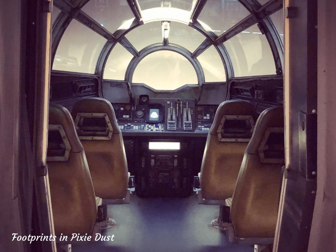 Star Wars Galaxy's Edge ~ The Millennium Falcon Cockpit
