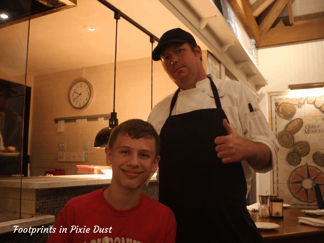Disney's Vero Beach - Chef Kyle at Wind & Waves Grill