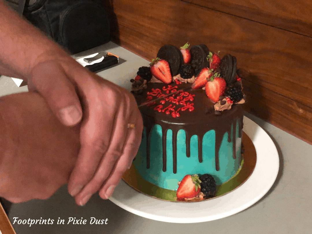 Disney's Vero Beach Resort - Birthday Cake time