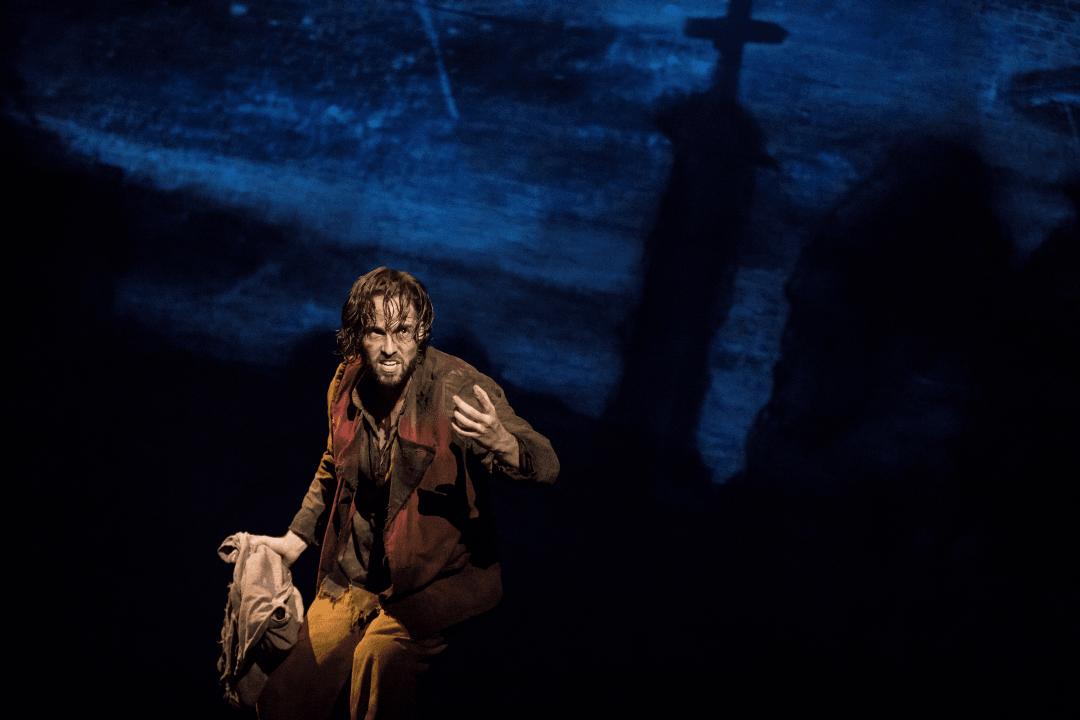 Les Miserables - Nick Cartell as Jean Valjean - Photo by Matthew Murphy