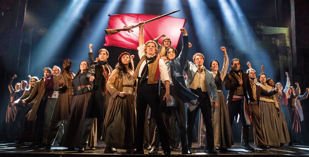 Les Miserables One Day More - Photo Matthew Murphy