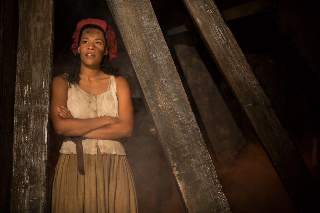 Paige Smallwood as Eponine - Photo by Matthew Murphy