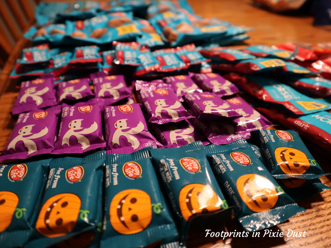 Enjoy LIfe, Disney and Halloween - Enjoy Life chocolate minis