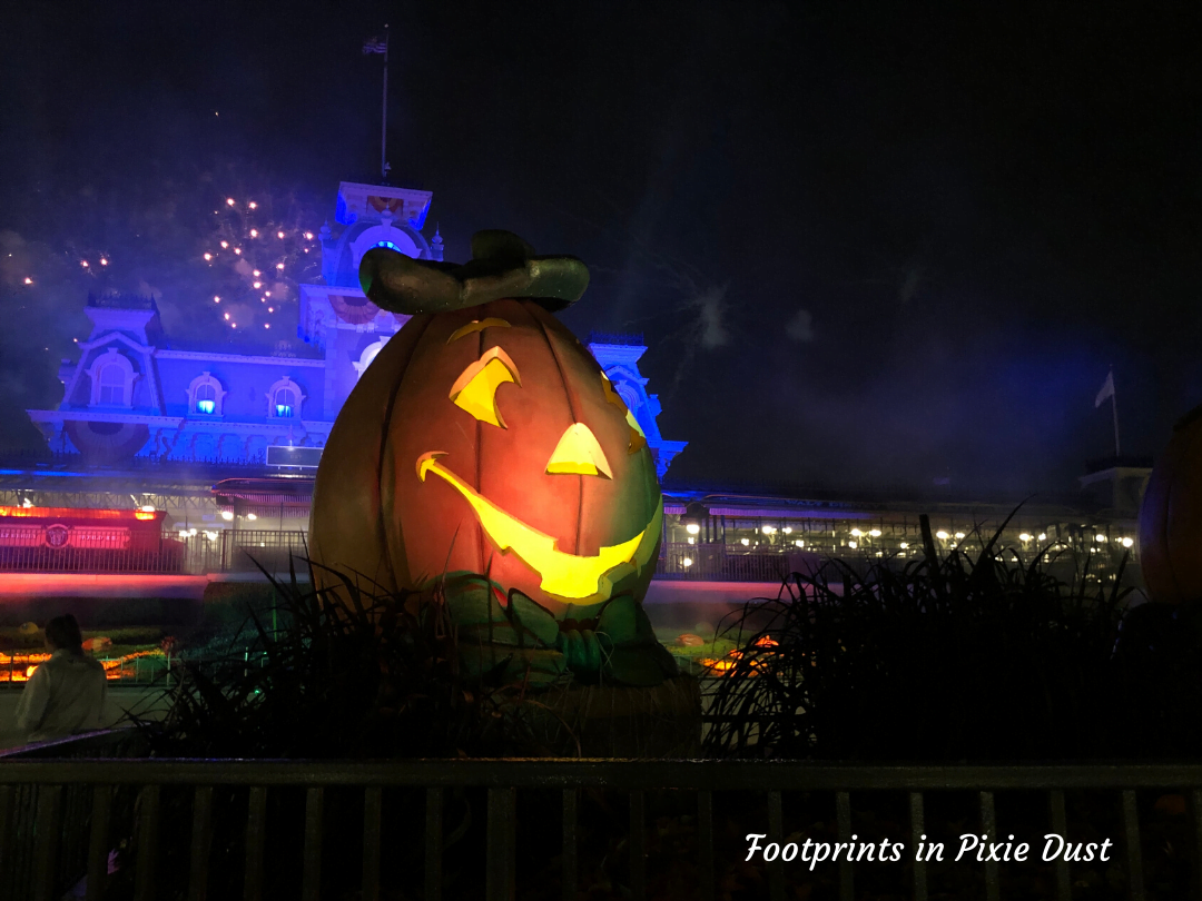 Enjoy Life, Disney and Halloween - front entrance to Magic Kingdom